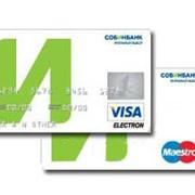 Услуги по обслуживанию платежных карт Maestro и Visa Electron фото