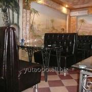 Диван для ресторана и кафе фото