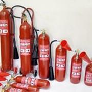 Перезарядка огнетушителей фото