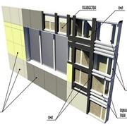 Возведение несущих и ограждающих конструкций фото