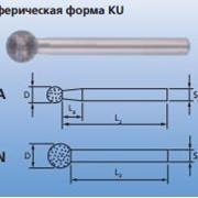 Шлифовальные головки CBN Сферическая форма KU фото