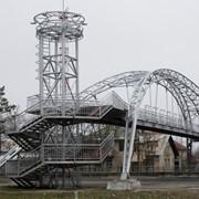 Металлоконструкции мостовые Пешеходные фото