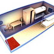 Блок-контейнер - БК3 Универсальная дешевая бытовка для проживания, размещения оборудования, складирования фото