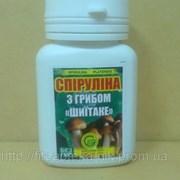 Спирулина с грибом Шиитаке 80 табл. 0,5г фото