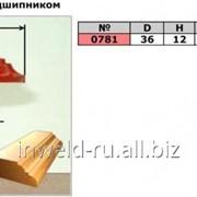 Код товара: 0781 (D36 H12) Фреза фигурная с подшипником (кромочная калевочная) фото