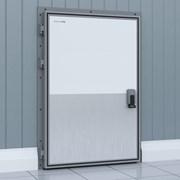 Дверь распашная для охлаждаемых помещений фото