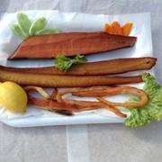 Рыба холодного копчения натуральным способом без использовния жидкого дыма, красителей и т.п. фото