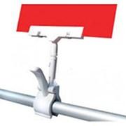 CLAMP-DBL Держатель ценника на прищепке ( белый ) фото
