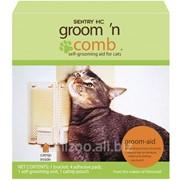 """Угловая щетка для самогрумминга котов SENTRY Groom""""n Comb фото"""