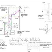 Монтажная схема системы кондиционирования квартиры — 91 м2. фото