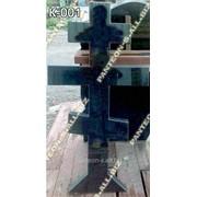 Крест гранитный модель К-001 фото