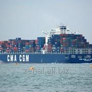 Морские контейнерные перевозки в Черноморском бассейне из Италии фото