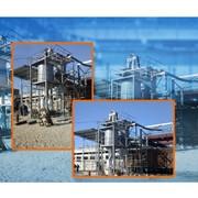 Прирельсовый комплекс приема и фасовки гранулированных минеральных удобрений 100 т.ч. фото