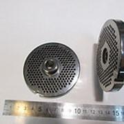 ZI2203.U.850.0 Решетка #22 для промышленной мясорубки системы ENTERPRISE (Д-82/11мм) (раб. Отв. 3мм) фото