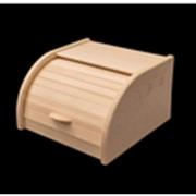 Хлебница из дерева фото