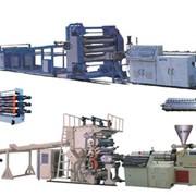 Экструзионная линия для производства доски, листа фото