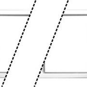Летница приставная алюминиевая 14 ступенек фото
