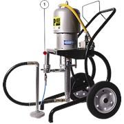 Окрасочный аппарат высокого давления с пневмоприводом ASP-451 фото