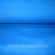 Ткань пальтовая кашемир (темно-синяя) фото