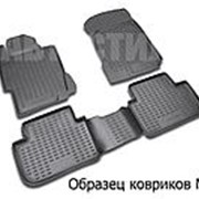 Коврики 3D в салон SKODA Rapid, 2013-> 4 шт. (полиуретан) Новлайн фото