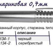 Ручка шариковая,черный корпус фото