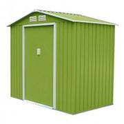 Хозблок Sally D (2,31х2,51х1,98м) светло-зеленый с бежевым кантом фото