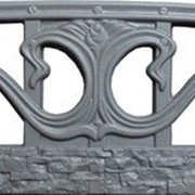 Форма из АБС (ПВХ) пластика для производства бетонных заборов №52 фото