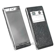 Vertu Aster StinGray Black EXCLUSIVE + Чехол из натуральной кожи ската