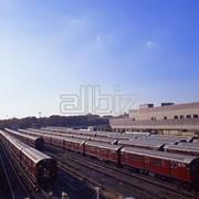 Логистические услуги. Железнодорожный транспорт. Перевозка грузов по железной дороге: Услуги железнодорожных баз. фото