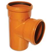 Труба ПВХ канализационная для наружной канализации фото