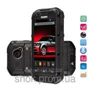 Водонепроницаемый противоударный телефон Discovery V6+ 3G*MTK6572, черный