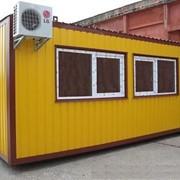 Бытовые контейнера, вагончики, блокпосты, курени, микродома, изготовление. фото