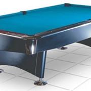 Бильярдный стол/пул Reno 9 ф (черный) фото