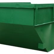 Бункер для мусора и ТБО 8м3 БН-8 фото