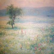 Копия картины Беркуса лен цветет фото