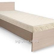 Кровать 1 жесткое основание дсп (Luxe Studio) фото