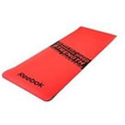 Тренировочный коврик (мат) для фитнеса нескользящий Reebok (серый) Арт.RAMT-11024RDS фото