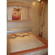 Шторы для спальни, ткани, жалюзи, карнизы фото