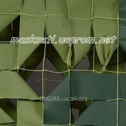 Сетка маскировочная сеть S&S Military зеленая двухцветная, размеры: 1,5*6м, 3*3м, 3*6м фото