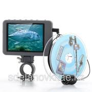Подводная камера для рыбалки-3,5-дюймовый цветной монитор, 2 мп камера, диапазон 20 метров фото