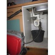 Прочистка канализационных труб от засоров фото