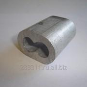 Втулки алюминиевые обжимные для опрессовки строп фото
