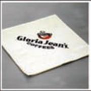 Салфетки с нанесением логотипа двухслойные 25x25 артикул 70002336 фото