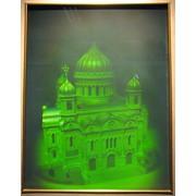 Голограмма художественная Храм Христа Спасителя фото