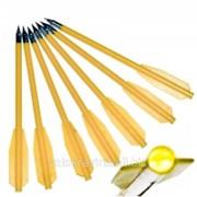 Стрелы для арбалета 12шт (пластиковые) фото