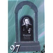 Памятник гранитный №97 1000х600х80 фото