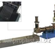 Стренговый гранулятор для пленки и листового материала из ПП, ПЭ фото