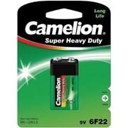 Батарейка 6F22 Camelion Super Heavy Duty (6F22-BP1G) фото