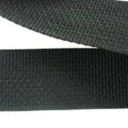 Ременная лента полипропилен черная фото