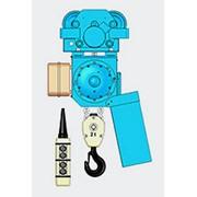 Цепной электротельфер серии ВB С электрической тележкой фото